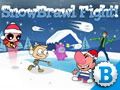 Ben 10 Alien Force - SnowBrawl Fight