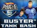 Buster Tank Bash   Hot Wheels Battle Force 5